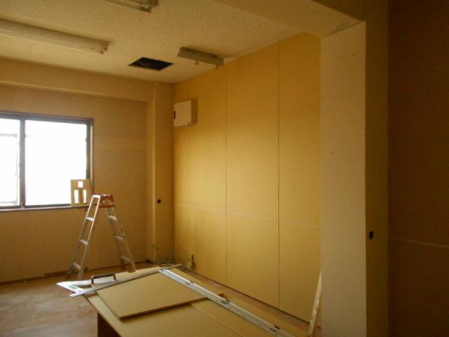 成田工業新社屋内装工程写真 019