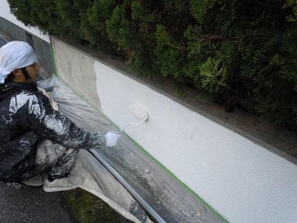 神吉邸塗装工事 019